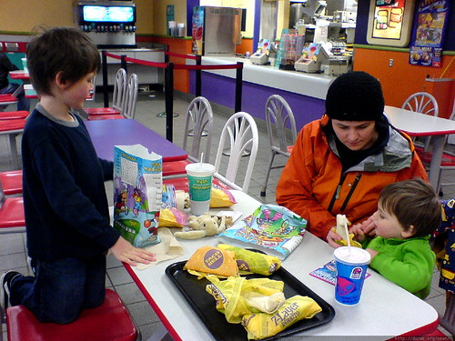 zombie easter dinner at taco bell   DSC02827