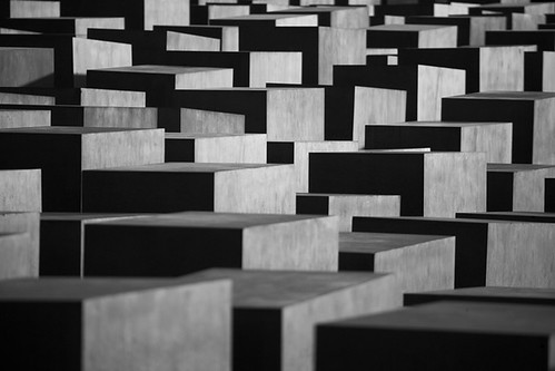 Holocaust memorial, Berlin by james_rawimages