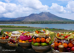 One Afternoon in Bali: Ceremony at Lake Batur