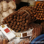 Tobacco, Cigarette and Garlic - Copan Ruinas, Honduras