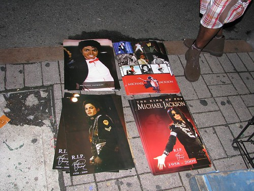 Michael Jackson tribute at the Apollo Theater, NYC, 6-27-09