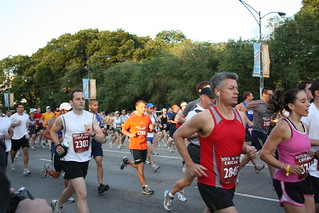 Faces from the race - Rock and Roll Half Marathon in Chicago