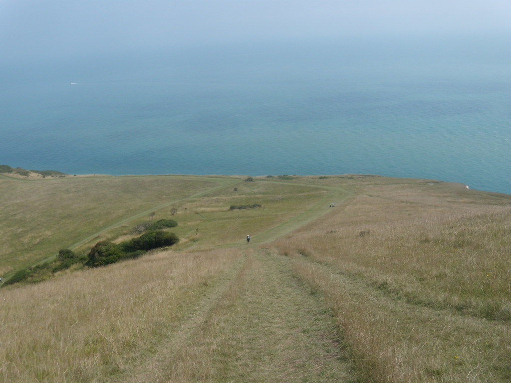 looking back down Eastbourne to Seaford