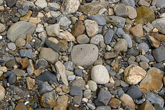 boulder(0.0), stone wall(0.0), wall(0.0), soil(0.0), wood(0.0), cobblestone(0.0), rubble(1.0), geology(1.0), bedrock(1.0), pebble(1.0), stream bed(1.0), rock(1.0), gravel(1.0),