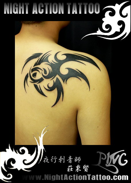 demon wing tattoo 刺青 | Flickr - Photo Sharing!