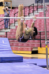 TWU Gymnastics [Bars] Brittany Johnson