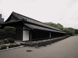 Kuva Hyakunin-bansho. castle japan edo guardhouse hyakuninbansho