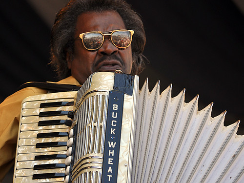 Buckwheat Zydeco on the Gentilly Stage