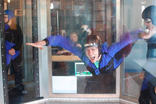 Justin at SkyVenture