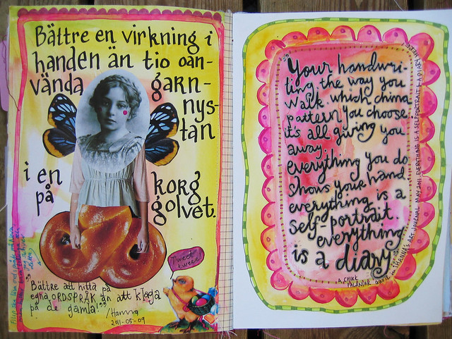 Art Journal: your handwriting is giving you away