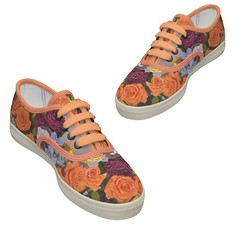 orange, pattern, outdoor shoe, magenta, sneakers, footwear, shoe, tan, athletic shoe, pink,