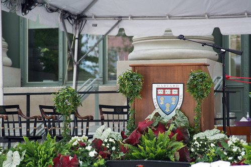 Harvard Law School Class Day Podium