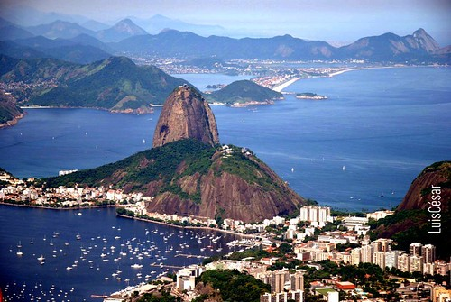 SUGAR LOAF - View from the Corcovado