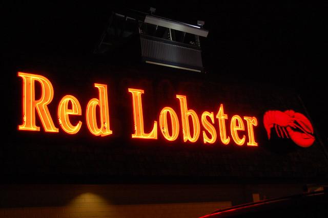Red Lobster Take Out Menu Kitchener