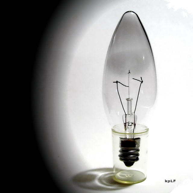 Burned Out Light Bulb
