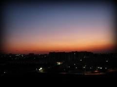 ...evening sky...