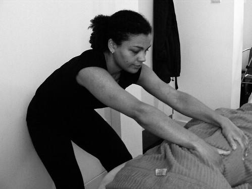 Massage 3 b/w
