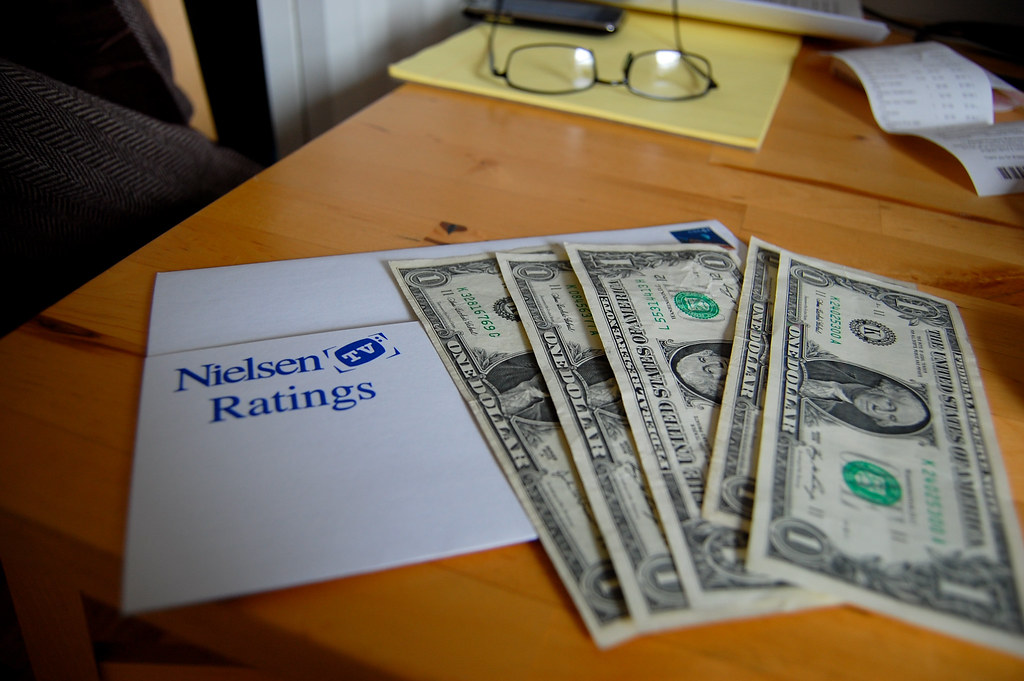 Nielsen tv survey $5, how can i make money online without