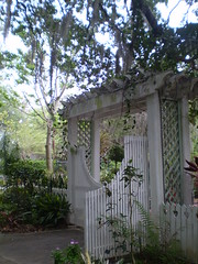 backyard, picket fence, property, gate,