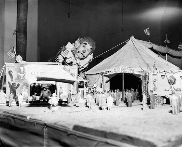 Tony the Atomic Clown's Miniature Circus, 1952