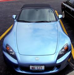 automobile(1.0), automotive exterior(1.0), wheel(1.0), vehicle(1.0), performance car(1.0), automotive design(1.0), honda(1.0), honda s2000(1.0), bumper(1.0), land vehicle(1.0), luxury vehicle(1.0), supercar(1.0), sports car(1.0),