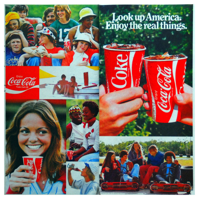 Major Shifts in Shaping Coca-Cola Print Advertisements