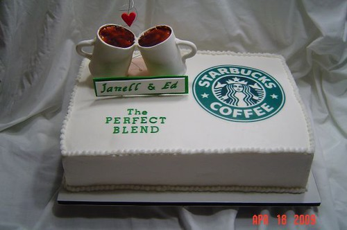 Starbucks Cake Clever Title