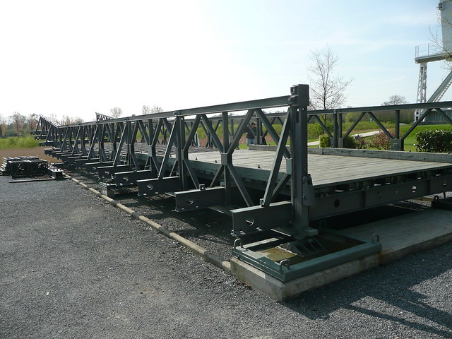 Small Portable Bridges : Wwii bailey bridge flickr photo sharing