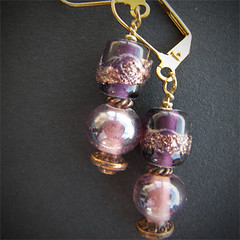body jewelry, purple, violet, metal, jewellery, earrings, pendant, bead,