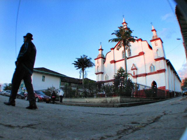 Imagen de la Antigua Iglesia de Circasia, Quindio