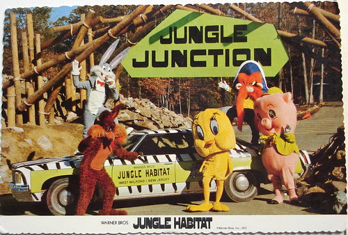 Jungle Habitat Jungle Junction postcard