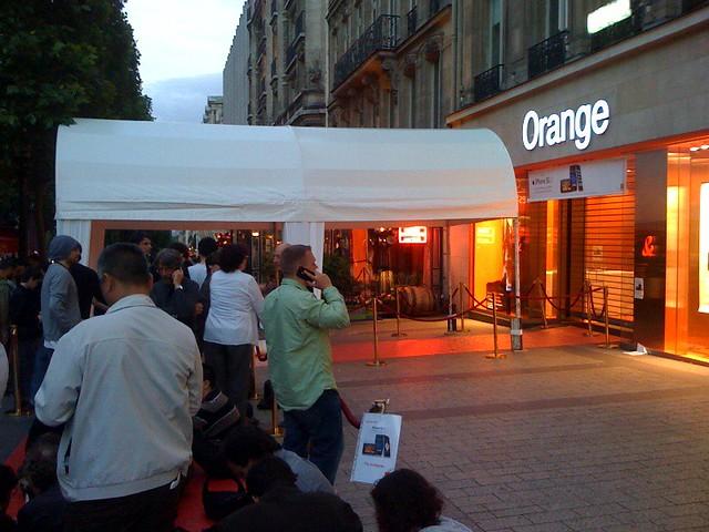 Orange Iphone Boutique
