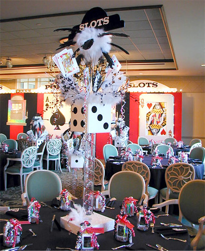 Centerpieces For Casino Theme Party