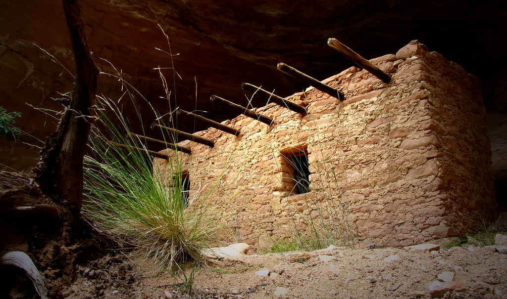 A very remote ruin. by Red Dirt Dawg