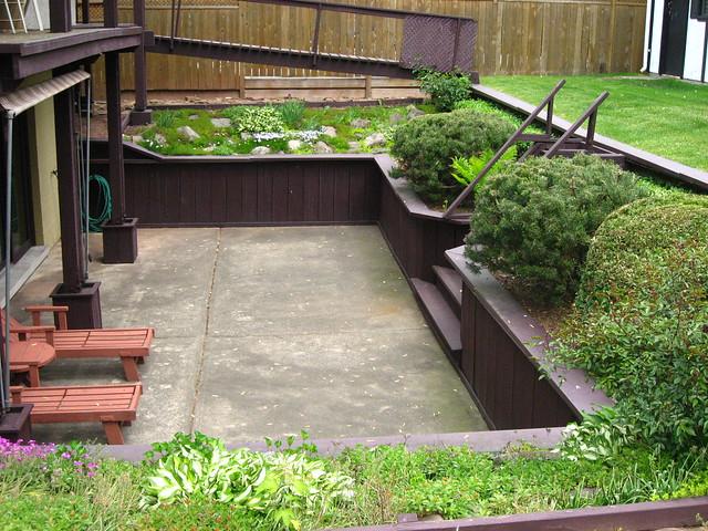Sunken Backyard Patio : sunken patio  Flickr  Photo Sharing!