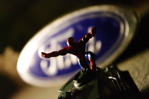 Spiderman/Ford/Tank by ford dagenham