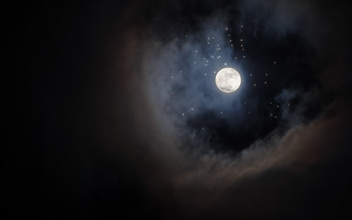 And the moon and the stars were gifts you gave to the night and the empty skies by Nedieth