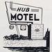 IL-Du Quoin - Hub Motel ad '62 by plasticfootball