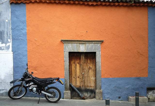 Motorcycle for a house Teror Gran Canaria