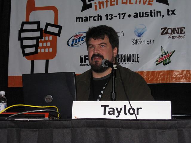 Header of Alan Taylor