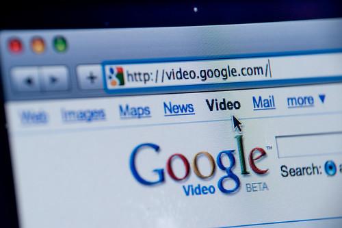 Google Video website screenshot
