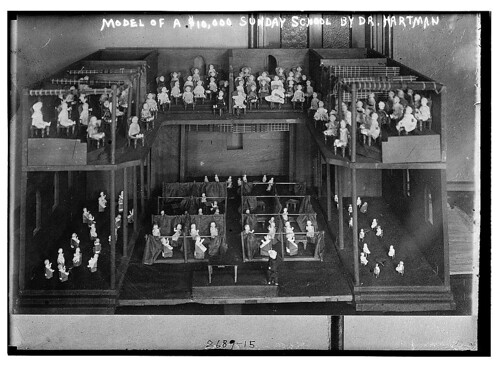 Model of a $10,000 Sunday School by Dr. Hartman  (LOC)