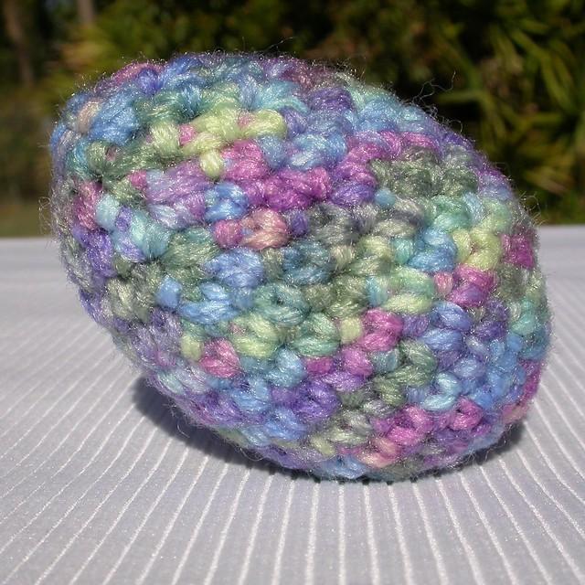 Crochet Easter Eggs : crocheted easter egg After searching the internet for egg ...