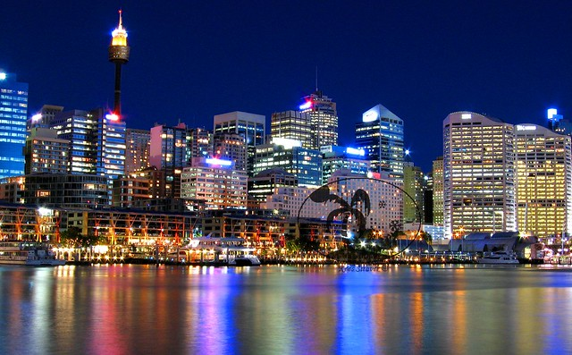 A Darling Harbour view - Sydney