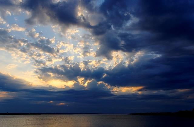 Grapevine Lake, Texas Sunset - #0447