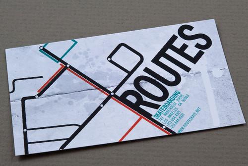 Skateboard pany Business Card