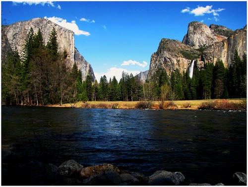 Yosemite National Park, Merced River View, California's Best