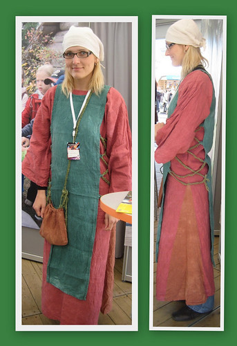 a medieval maid's dress by Anna Amnell