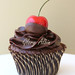 Chocolate Cherry Cupcake by Glorious Treats