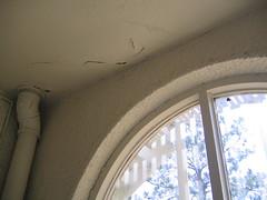 cracks in the ceiling